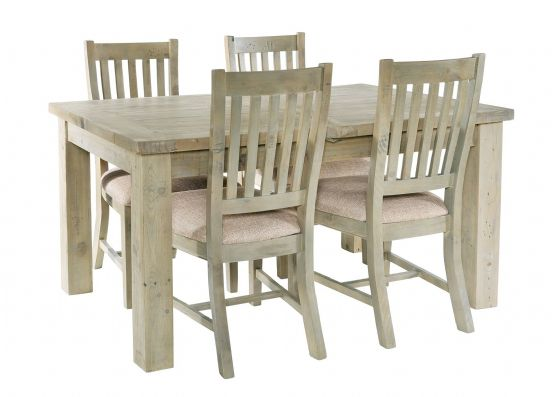 Gaverne Extending Dining Table & 4 Chairs - Special Order